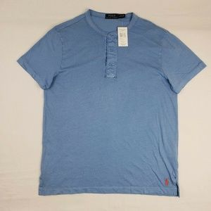 Vintage NWT Polo Ralph Lauren Sky Blue Shirt Tee